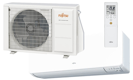 Fujitsu Varmepumpe